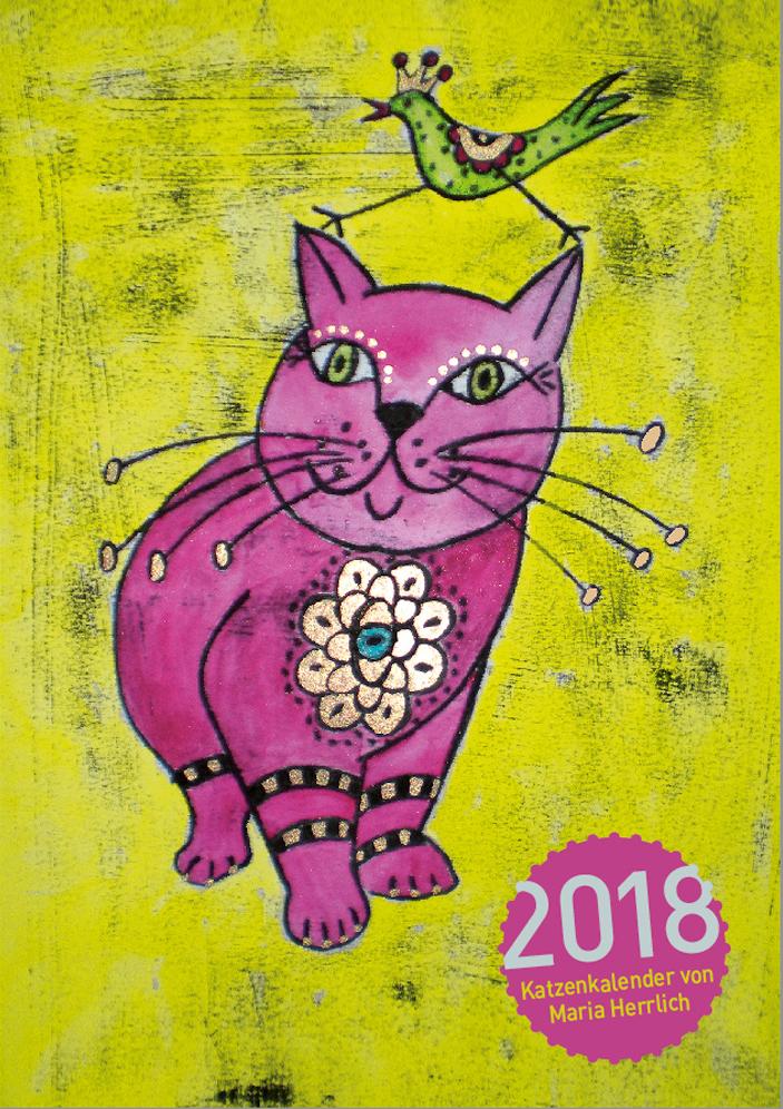 Katzenkalender 2018