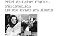 Fürchterlich ist die Braut am Abend - Niki de Saint-Phalle - Tanja Langer