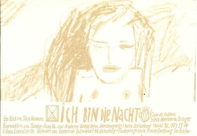 Ich bin die Nacht - Stück über Selma Me(e)rbaum-Eisinger